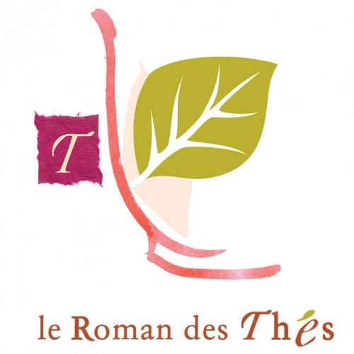 Création de logo pour le salon de thé, Le Roman des Thés