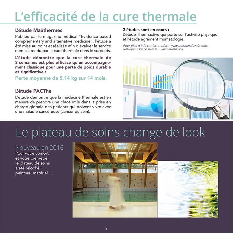Magazine - Thermes de Vals - graphisme