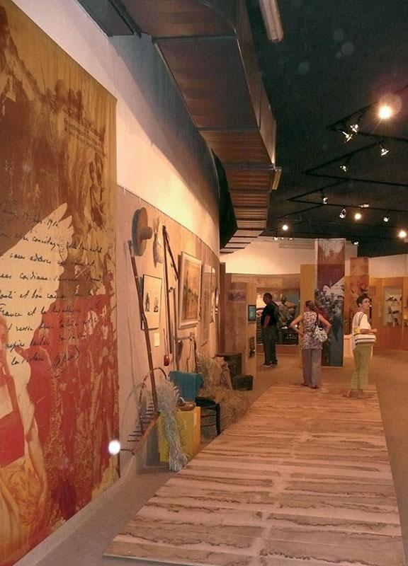 Création graphique à Lyon pour les musées et leurs exposition - Musée de la Bresse