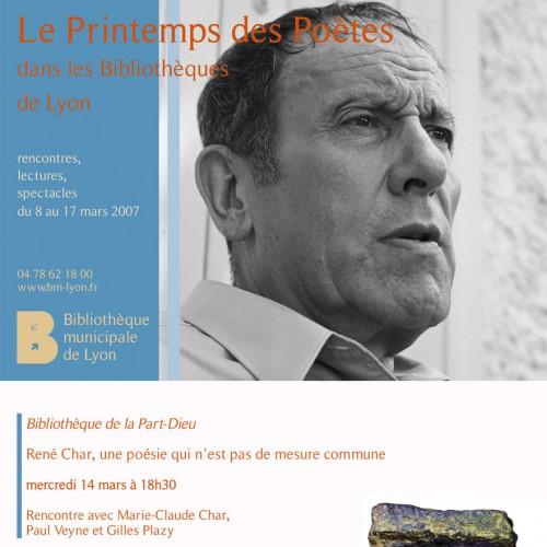 Plaquette – Bibliothèques de Lyon