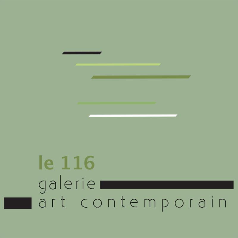 Graphisme culturel - Création graphique de Logo à Lyon - Galerie le 116 art
