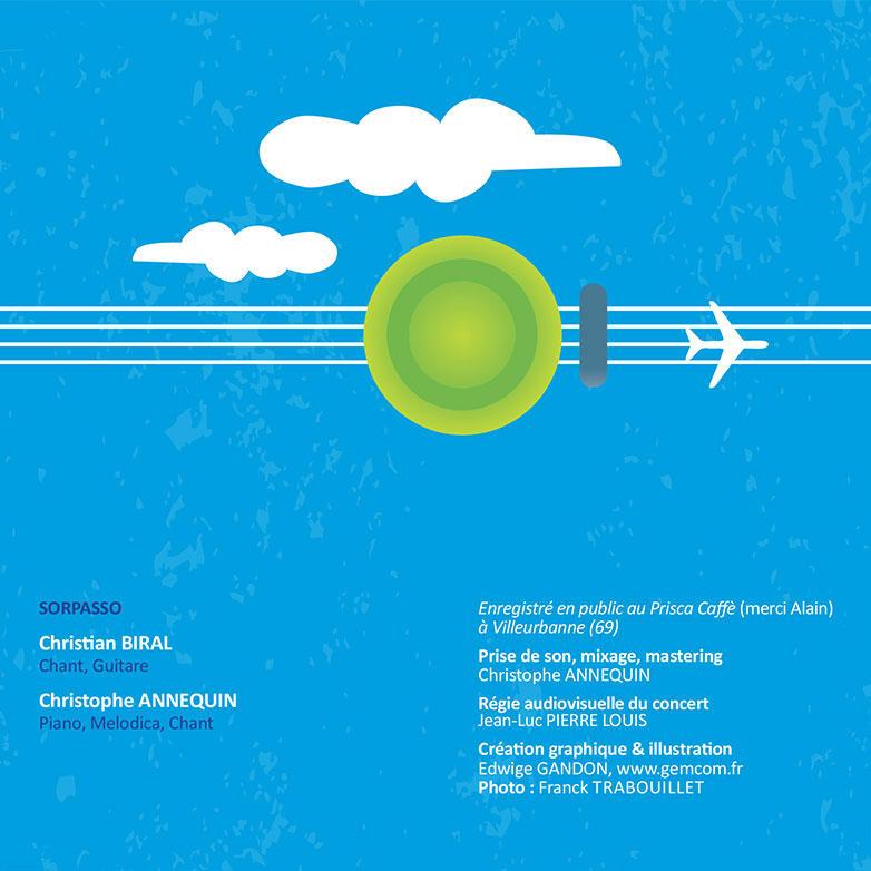 Création d'Illustration à Lyon et de graphisme de pochette de disque