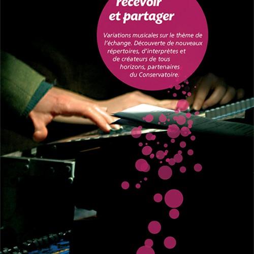Plaquette Conservatoire de musique de Lyon