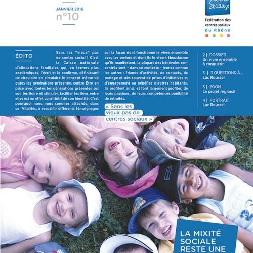 «Lettre» Les centres sociaux du Rhône