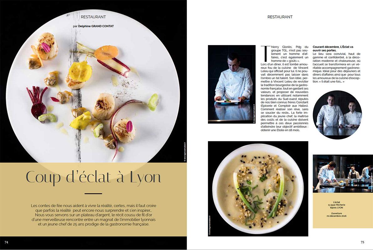 création de magazine à Lyon