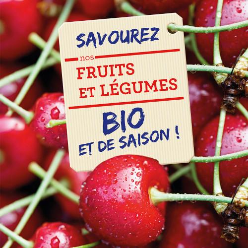 Affiche pour la Biocoop