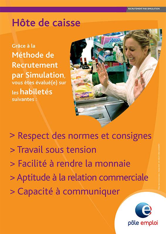 Graphisme - affiches pour Pôle emploi