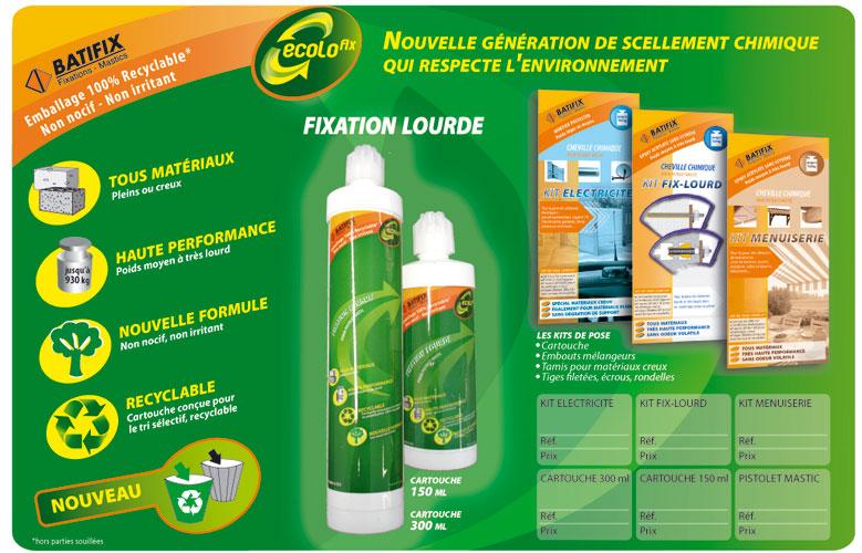 Création graphique d'annonce presse à Lyon Annonce presse pour Batifix