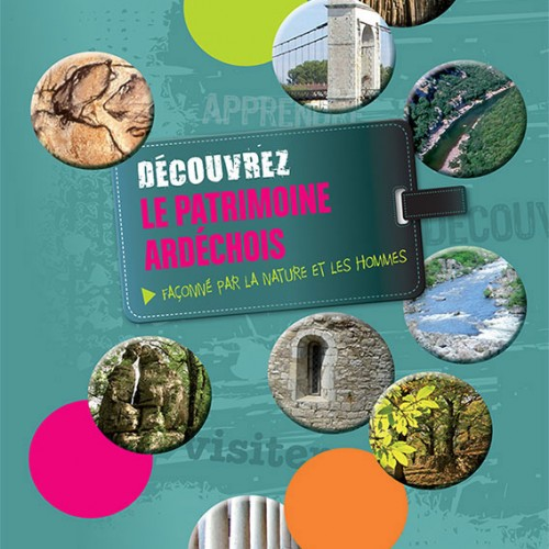 Brochure pour le tourisme en Ardèche