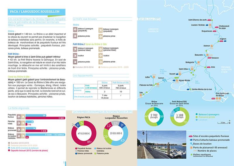 Création graphique de brochure pour le tourisme