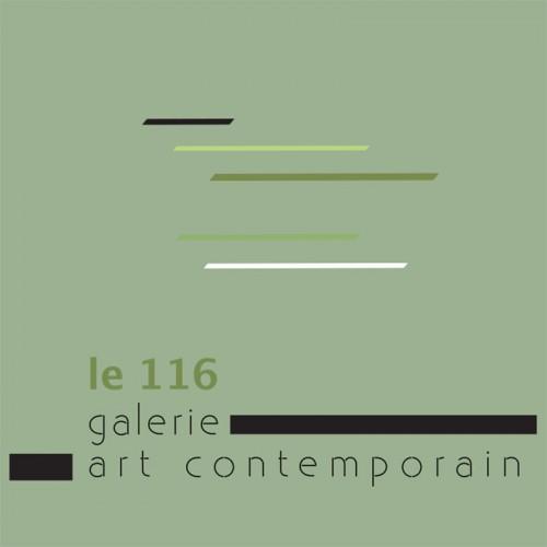 Création de logo pour la galerie le 116art