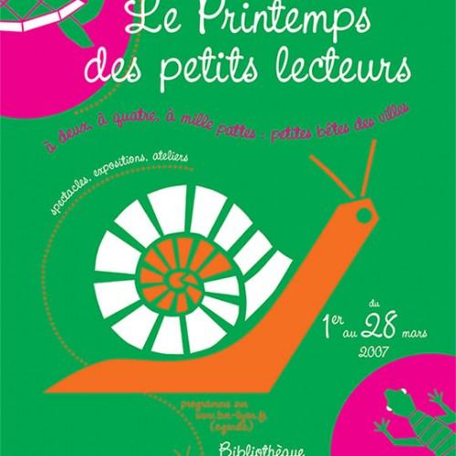 Affiche – Bibliothèques de Lyon