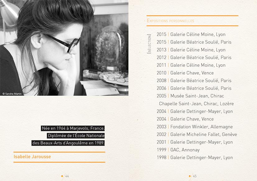 graphisme culturel - Création graphique de Livre d'art pour la galerie Céline Moine