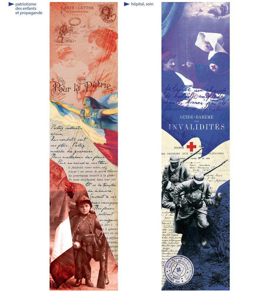 Création d'illustrations pour les expositions et les musées