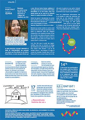 création graphique de magazine