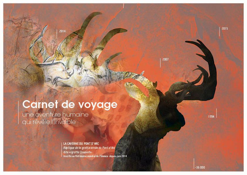 Création graphique de brochure culturelle