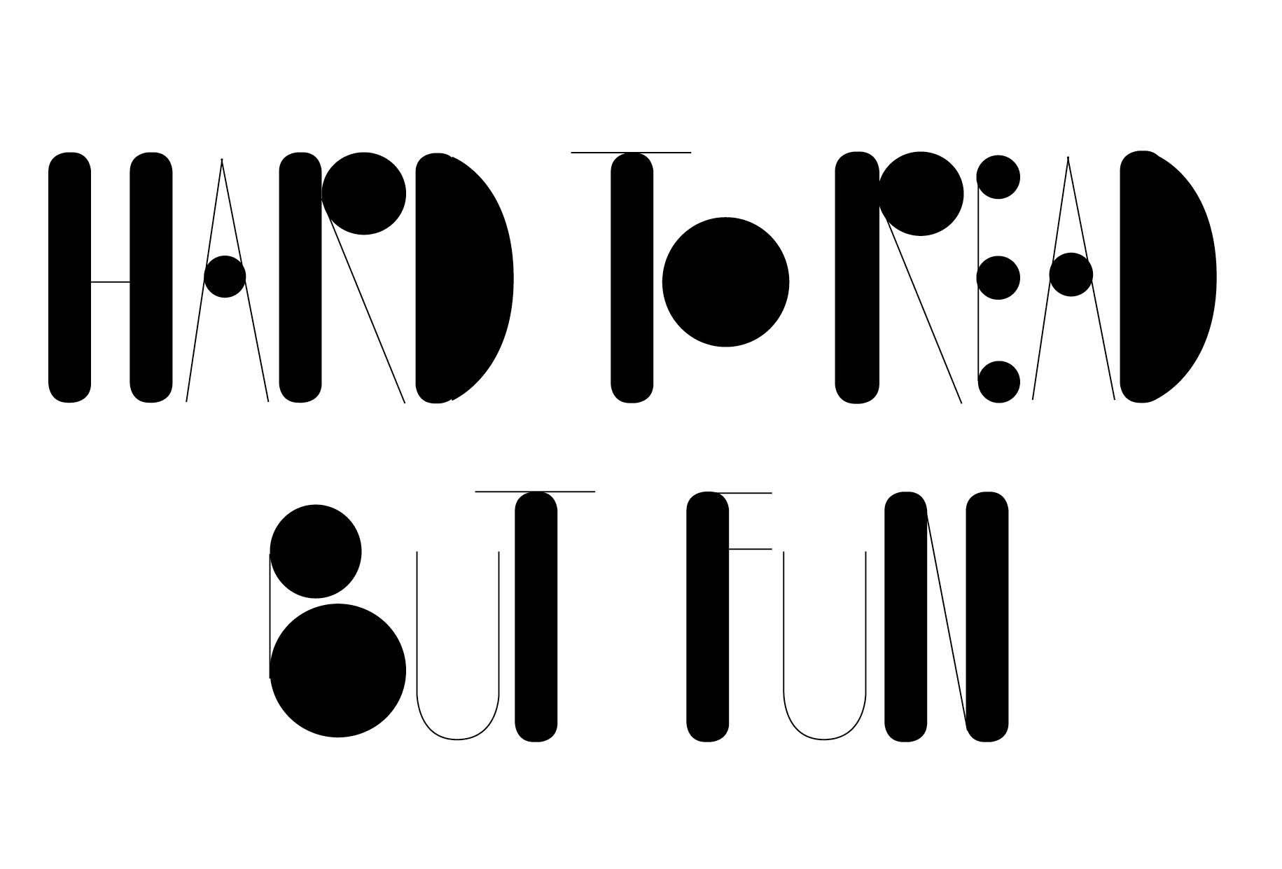 jeux typographiques
