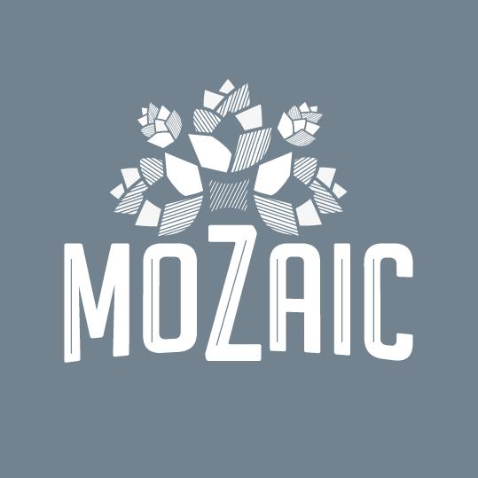 Création de logo pour la cave à bière Mozaic