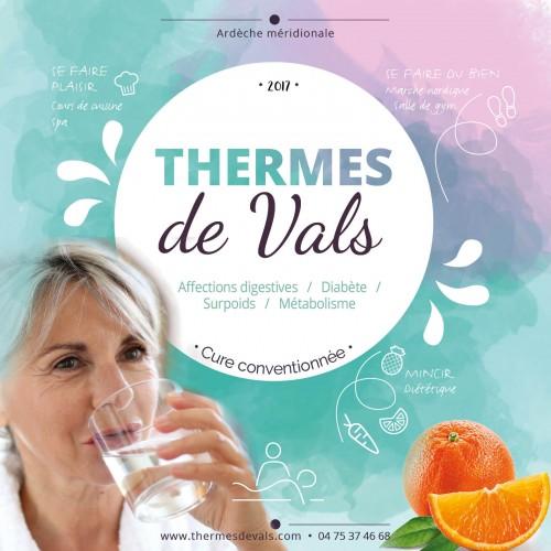 Les Thermes en Ardèche, un graphisme bien-être !