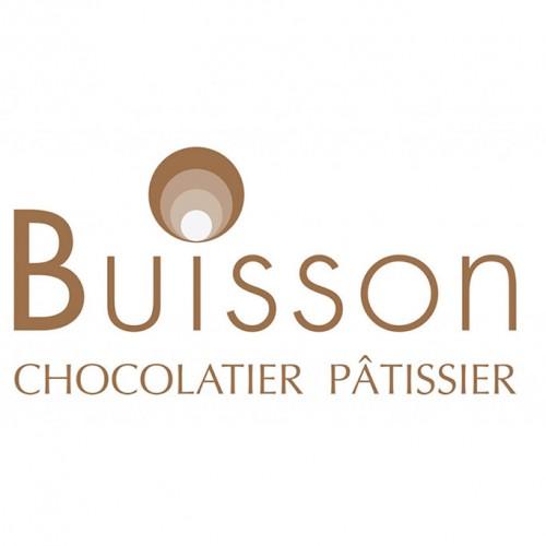 Création graphique de logo pour le chocolatier Buisson