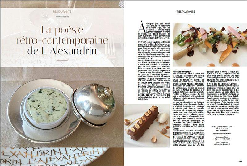 création de magazine Lyon