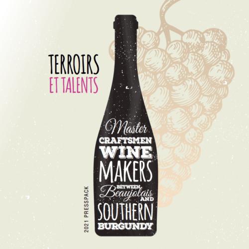 Plaquette pour les vignobles du Beaujolais