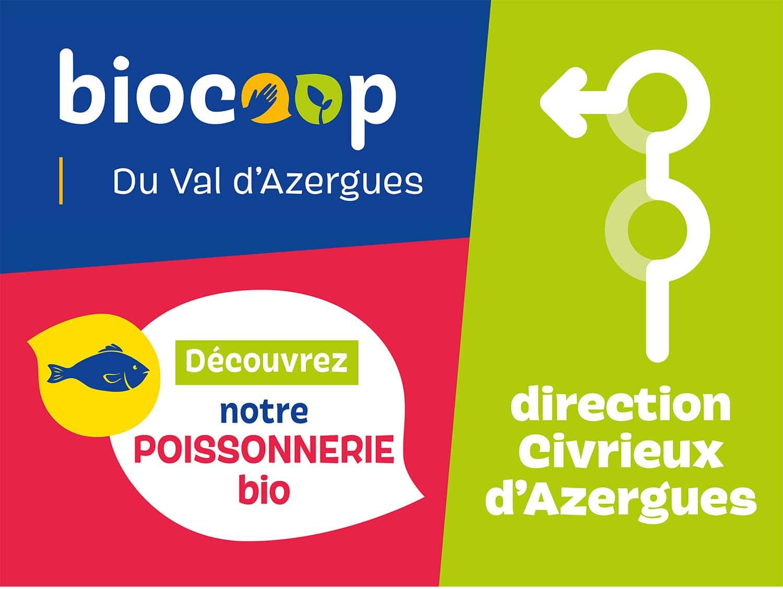 graphisme pour la biocoop