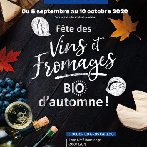 Affiche – Vins et fromages Biocoop