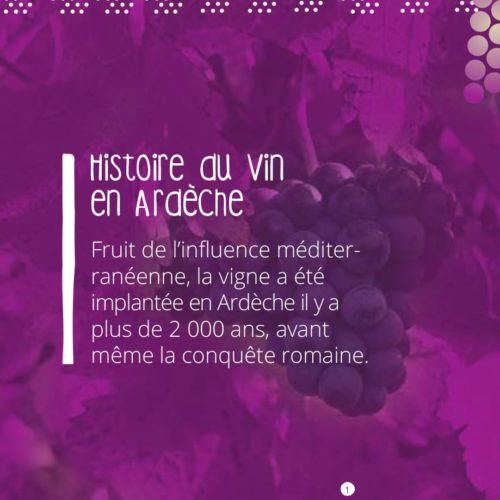 Brochure De la vigne au verre